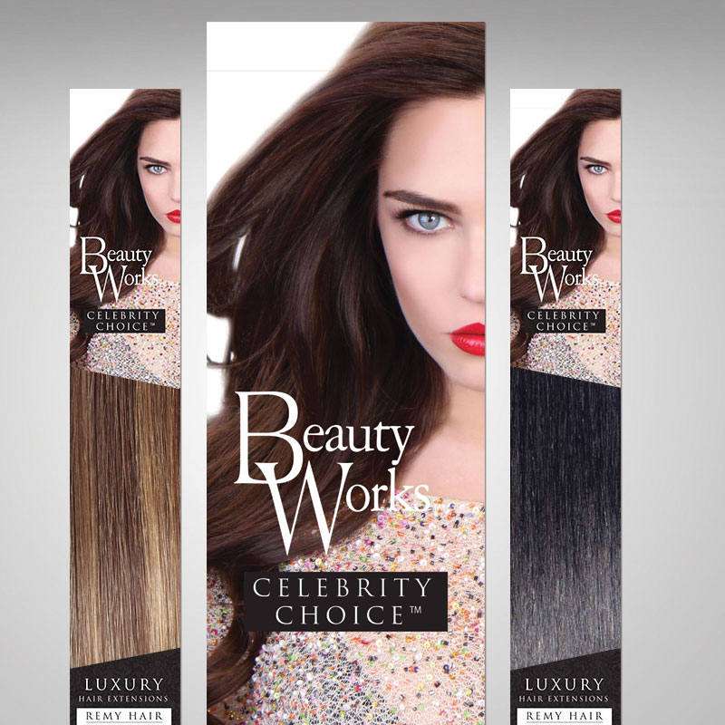 Hair Color Box Design