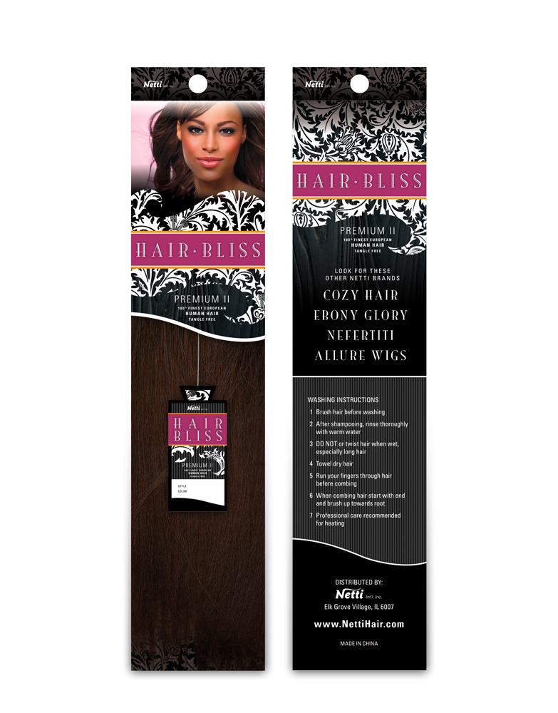 Hair Extensions Packaging