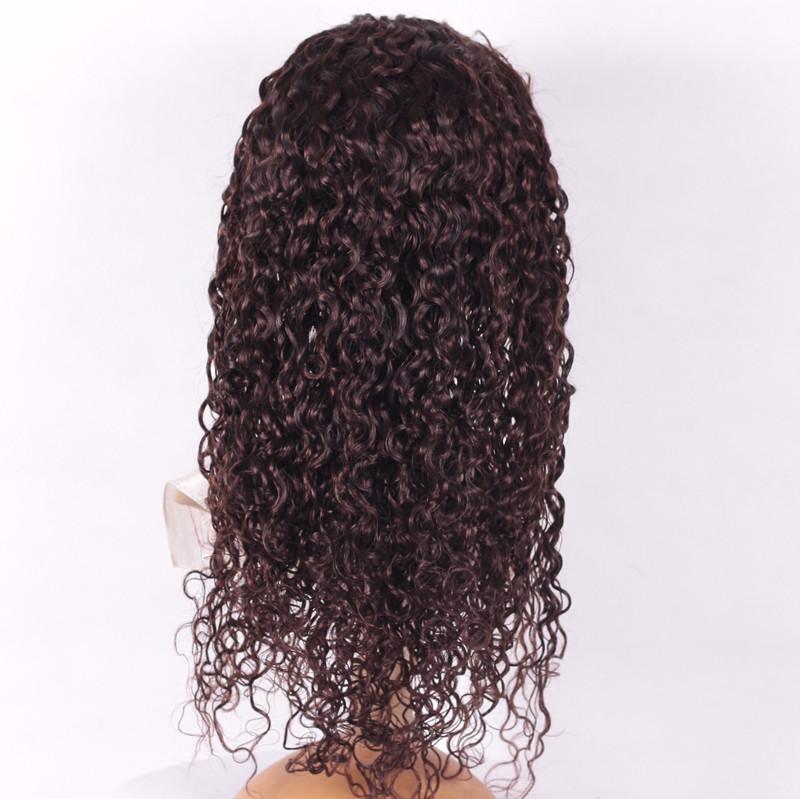 Curly 20inch 2# brazilian hair-2