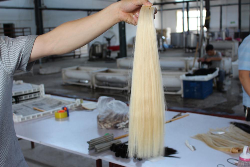 Hair Factory Tape In Hair
