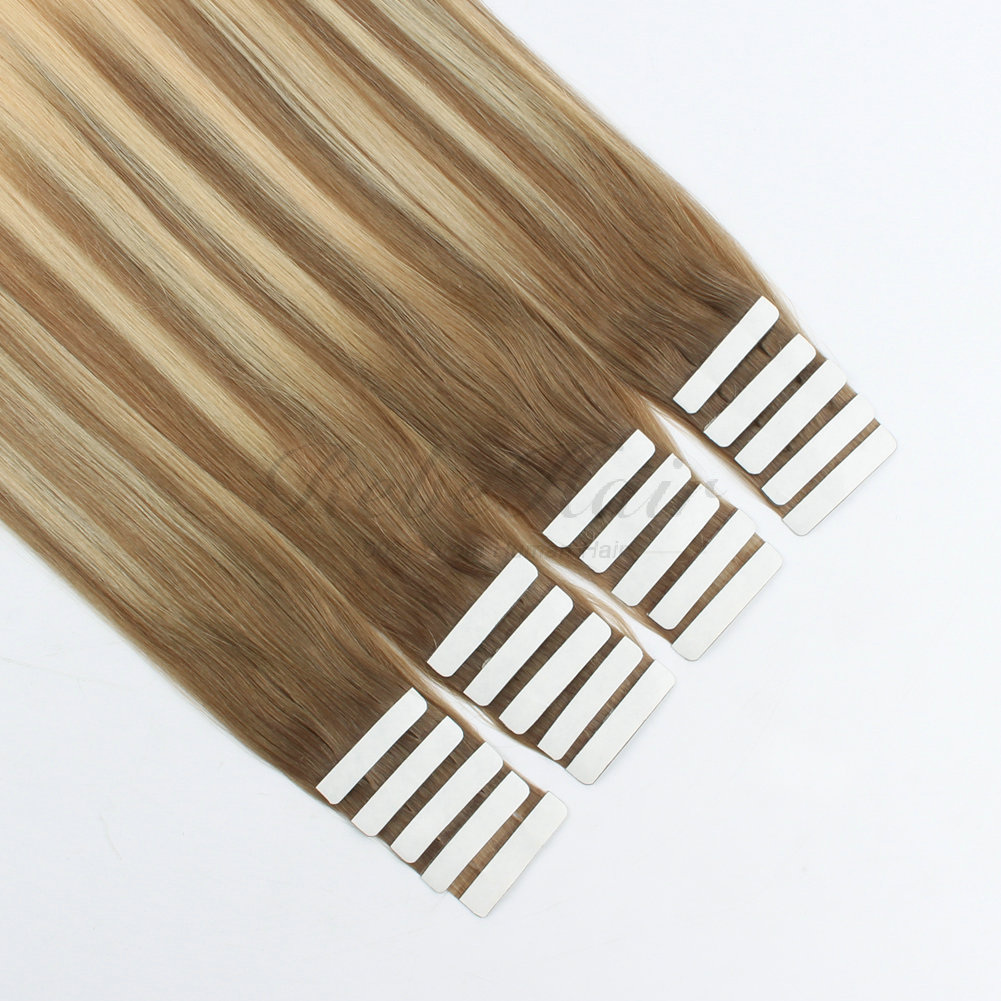 Wholesale Tape In Hair Extensions Balayage Color 860 Rebehair