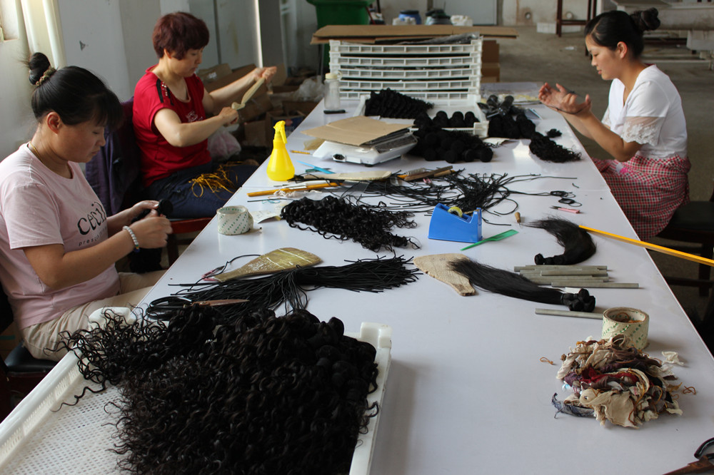 Rebe Hair Factory Workshop 4