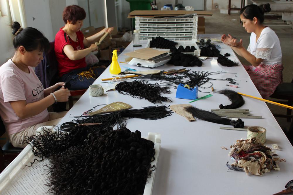 Rebe Hair Factory Workshop 4