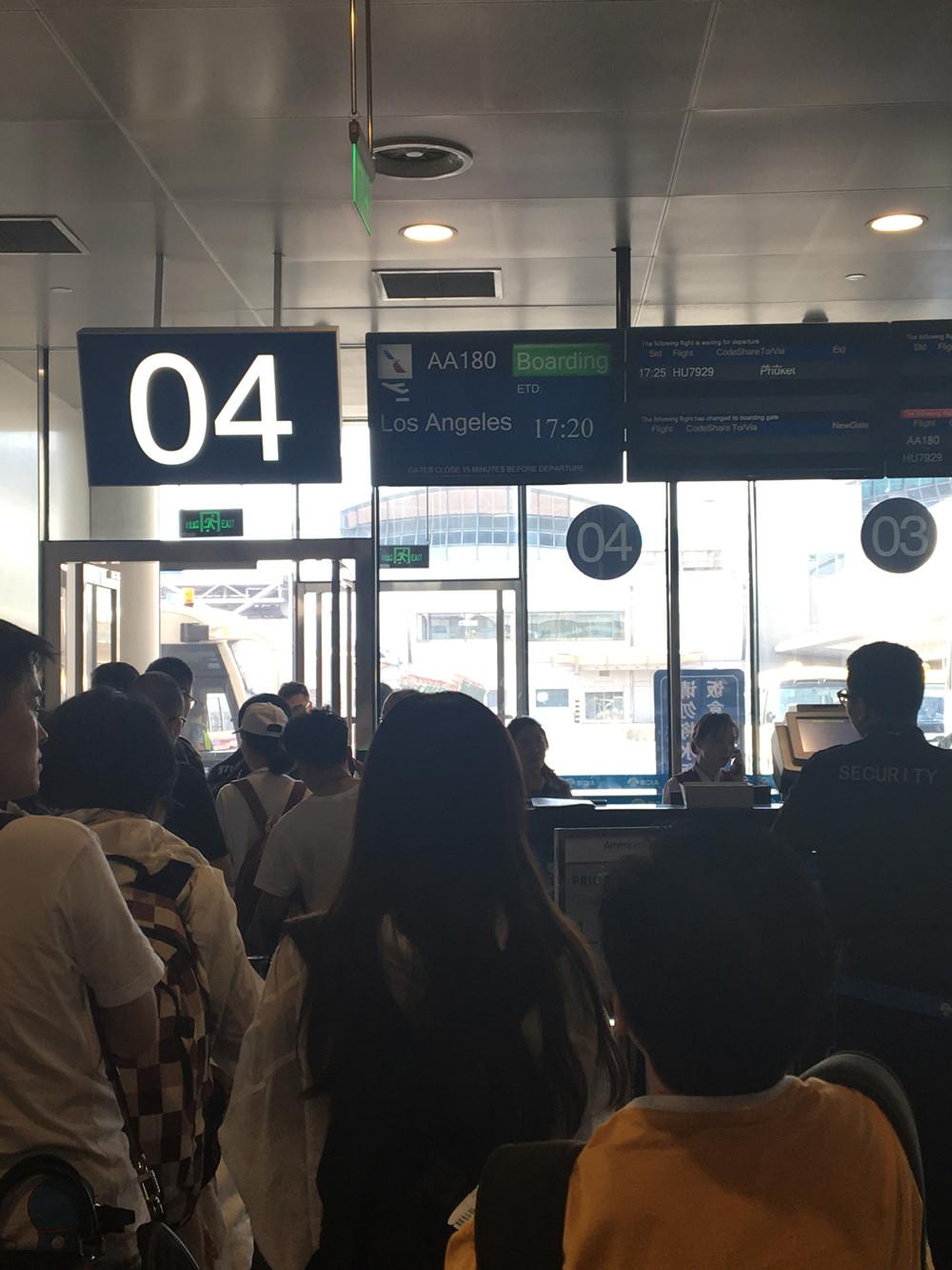 To LA